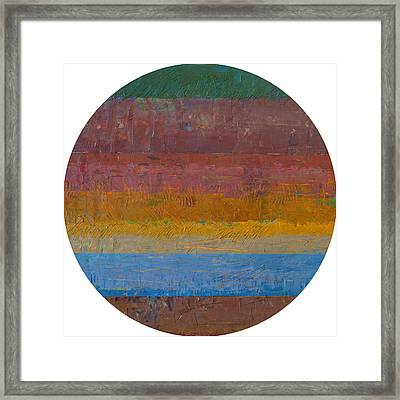 Planetary Eleven Framed Print by Michelle Calkins