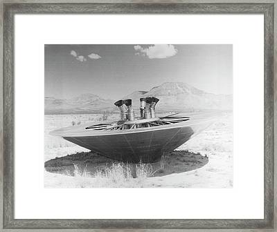 Planetary Entry Parachute Program Framed Print by Us Air Force