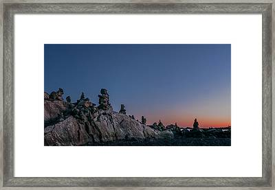 Planetary Framed Print by Joshua Blash