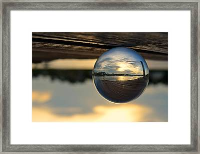 Planetary Framed Print by Laura Fasulo