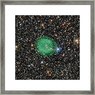 Planetary Nebula Ic 1295 Framed Print by European Southern Observatory