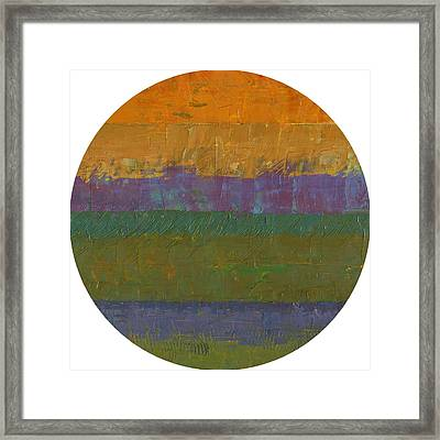 Planetary Nine Framed Print