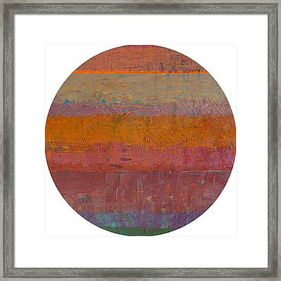 Planetary Twelve Framed Print