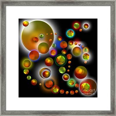 Planets Aligned Framed Print