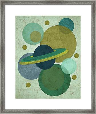 Planets I Framed Print by Shanni Welsh