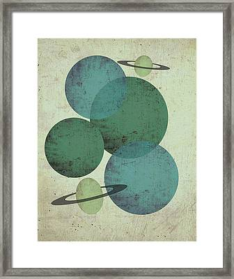 Planets II Framed Print by Shanni Welsh
