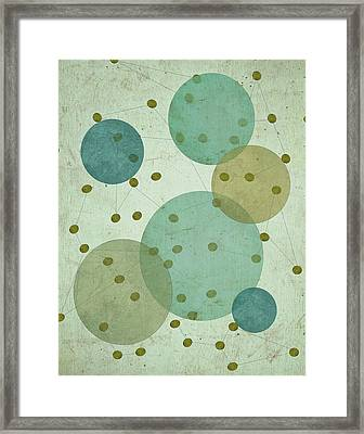 Planets IIi Framed Print by Shanni Welsh