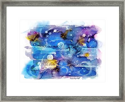 Planets Framed Print by Michele Angel