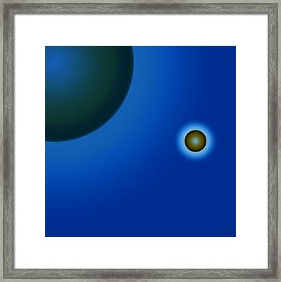 Planets Of Mercy Framed Print by Sir Josef - Social Critic - ART