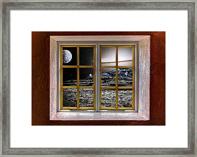 Planetscape Framed Print by Semmick Photo