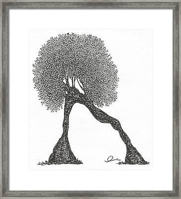 Plank Framed Print