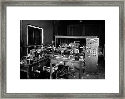 Plant Physiology Laboratory Equipment Framed Print