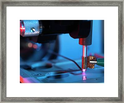Plasma-assisted Desorption Ionisation Framed Print