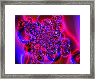 Plasma Dream Framed Print