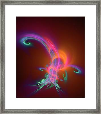 Plasma Physics Framed Print