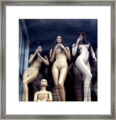 Plastic Dream Framed Print
