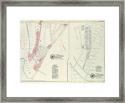 Plate 4 Map No. 302 Bounded By Harlem River Framed Print
