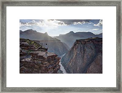 Plateau Point - Grand Canyon Framed Print