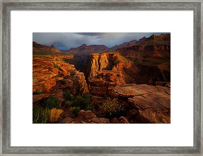 Plateau Point Framed Print by Kiril Kirkov