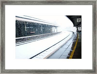 Platform 2 Framed Print