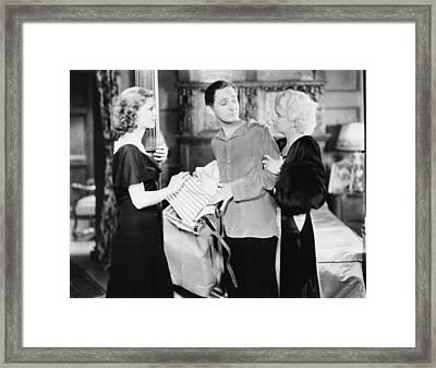 Platinum Blonde, From Left Loretta Framed Print by Everett