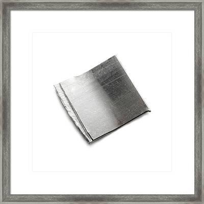 Platinum Framed Print