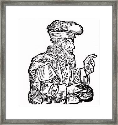Plato Framed Print by Unknown