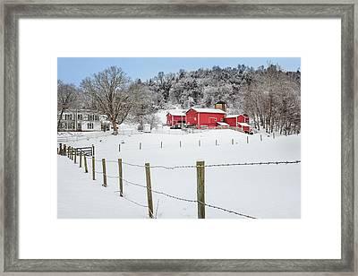 Platt Farm Framed Print