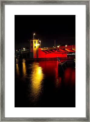 Platt Street Bridge Framed Print