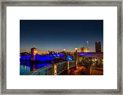 Platt Street Bridge Framed Print by Marvin Spates
