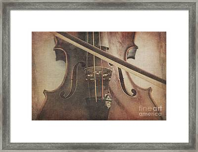 Play A Tune Framed Print