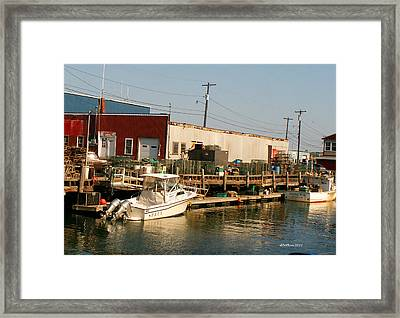 Framed Print featuring the photograph Play And Work by Dick Botkin