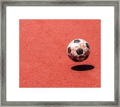 Play Ball Framed Print by Alex Hiemstra