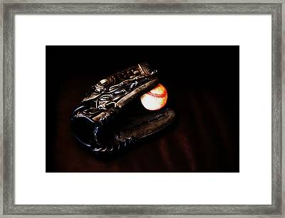 Play Ball Fine Art Photo Framed Print