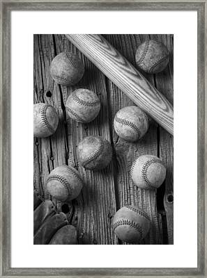 Play Ball Framed Print by Garry Gay