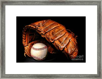 Play Ball Framed Print by Olivier Le Queinec
