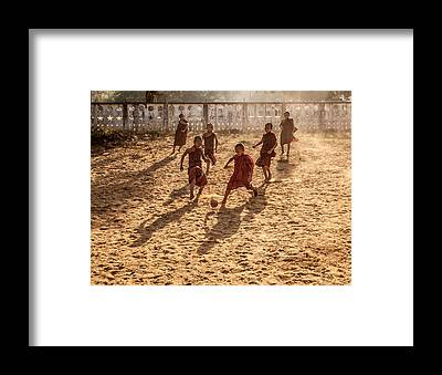 Myanmar Framed Prints