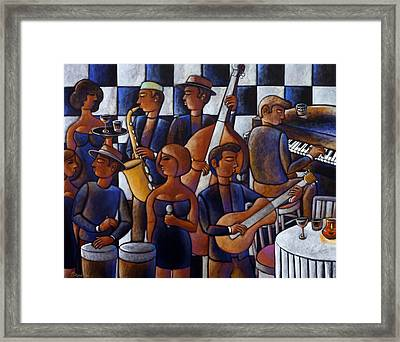 Play It Again Piano Man Framed Print by Gerry High