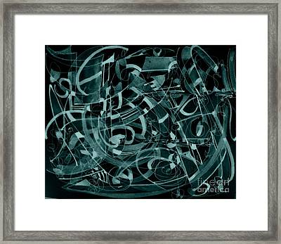 Play Me A Tune Framed Print