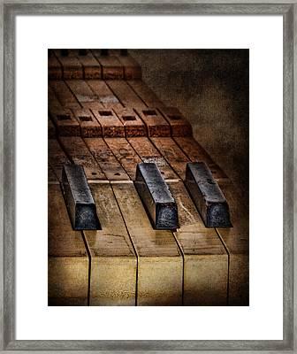 Play Me An Old Hymn Framed Print