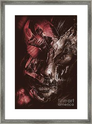 Play The Villain Of Emotional Contrast Framed Print