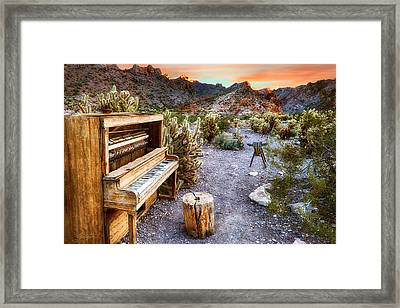 Play Till The Cows Come Home Framed Print