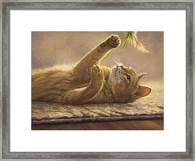 Playtime Framed Print by Lucie Bilodeau