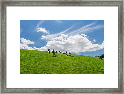 Play Time Framed Print by Phil Abrams