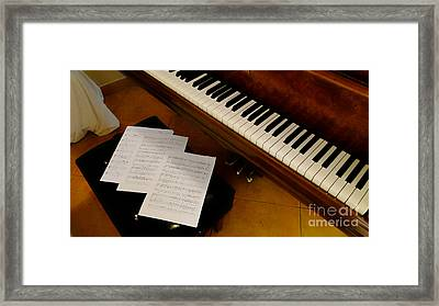 Play Us A Tune Please II Framed Print by Al Bourassa