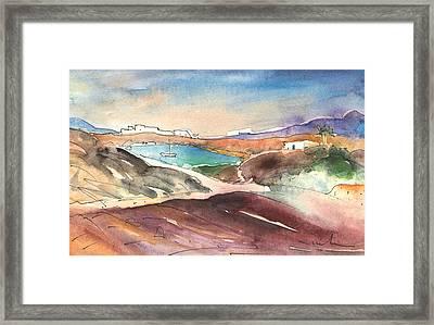 Playa Blanca In Lanzarote 02 Framed Print
