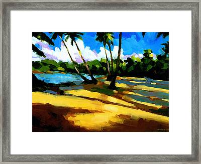 Playa Bonita 2 Framed Print