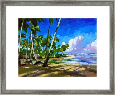 Playa Bonita Framed Print