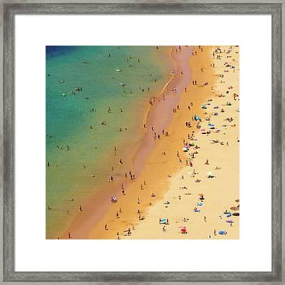 Playa De Las Teresitas, Tenerife, Spain Framed Print