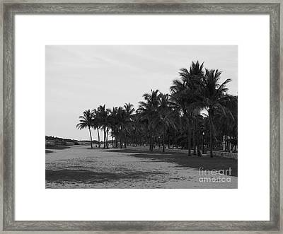 Playa Del Sur Framed Print